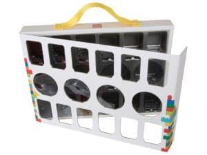 boite de transport pour figurines lego 851399
