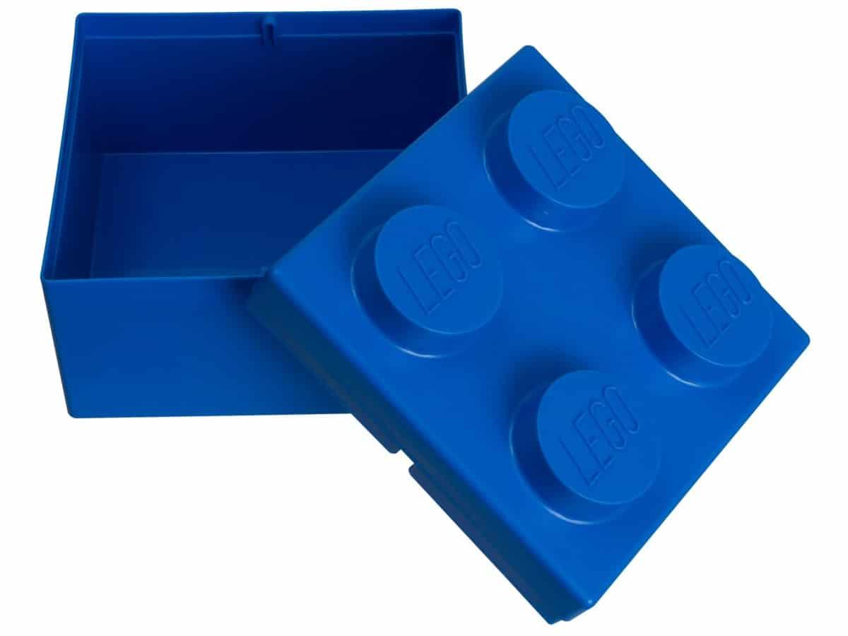 brique de rangement lego 853235 2x2 bleue scaled