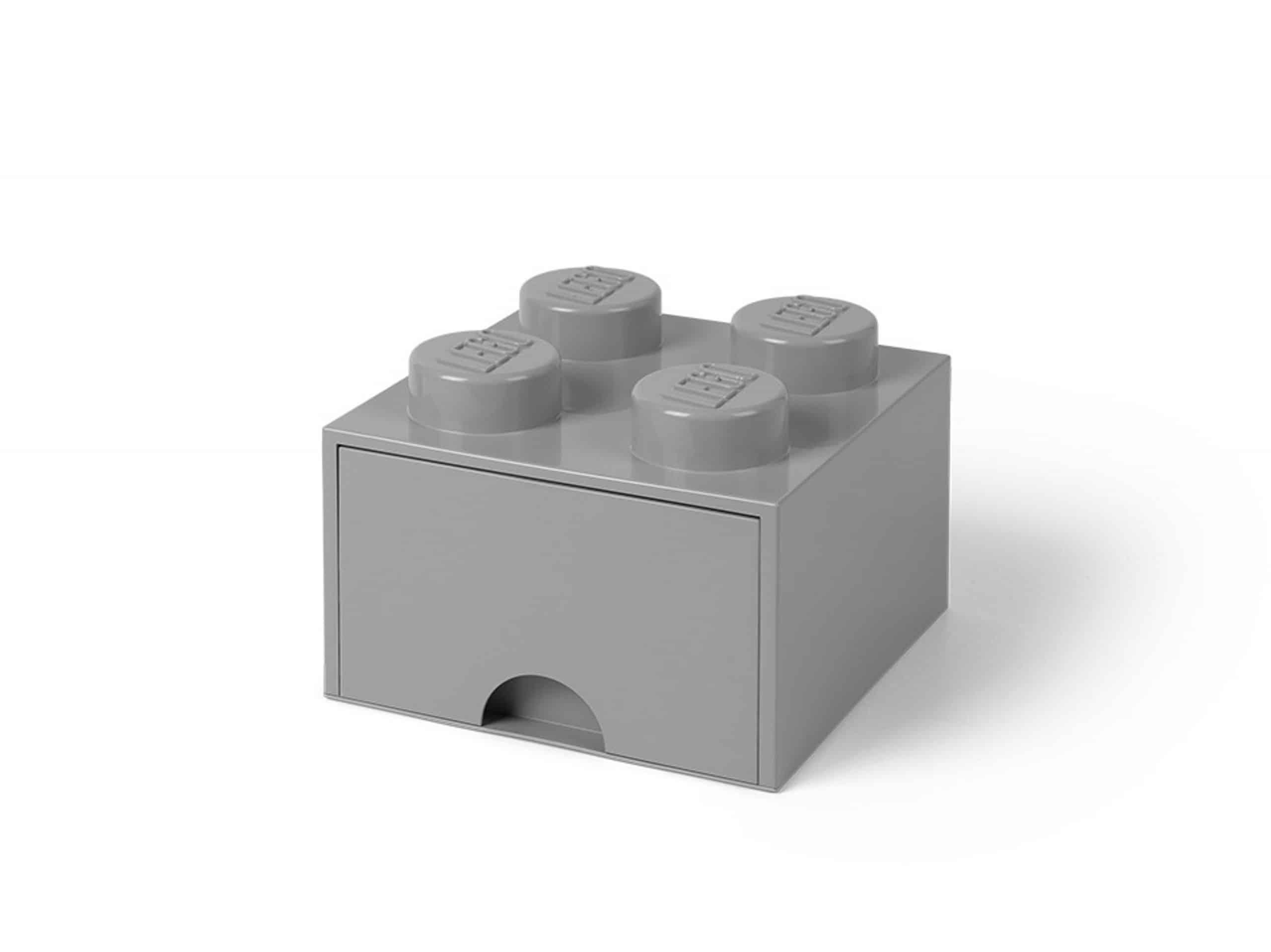 brique gris pierre de rangement lego 5005713 a tiroir et a 4 tenons scaled