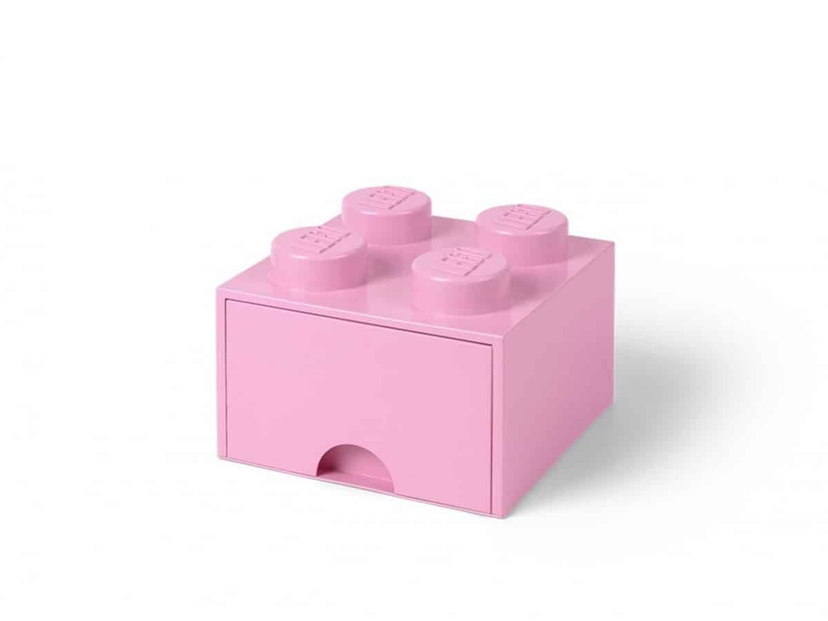 brique violet clair de rangement lego 5006173 a tiroir et a 4 tenons scaled