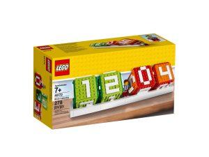 calendrier en briques lego 40172