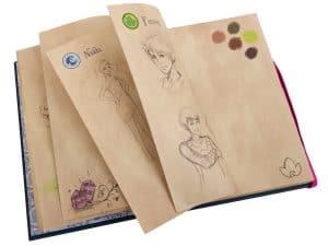 carnet de croquis demily jones lego 853565 elves
