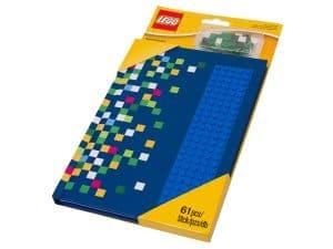 carnet de notes avec tenons lego 853569