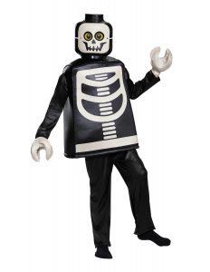 costume de squelette lego 5006010 deluxe