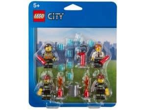 ensemble daccessoires pompiers lego 850618 city