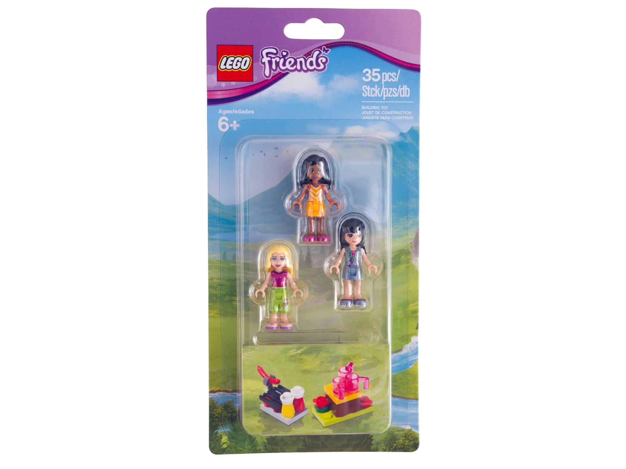 ensemble de camping pour minipoupees lego 853556 friends scaled