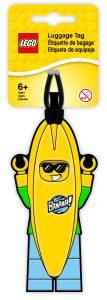 etiquette de bagage homme banane lego 5005580