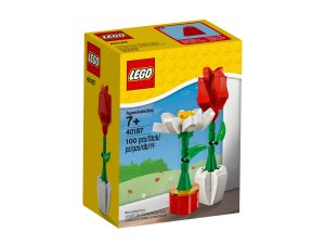 fleurs decoratives lego 40187