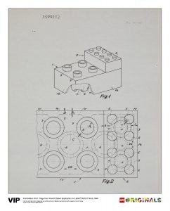 french patent lego 5005998 duplo 5005998 brick 1968
