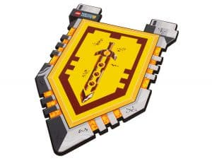 le bouclier des chevaliers lego 853506 nexo knights