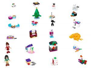 le calendrier de lavent lego 41131 friends