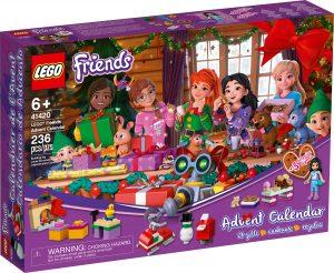le calendrier de lavent lego 41420 friends