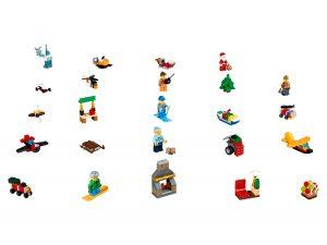 le calendrier de lavent lego 60155 city