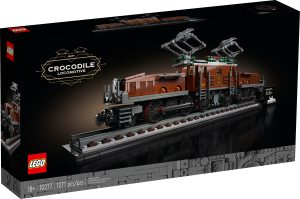 lego 10277 la locomotive crocodile
