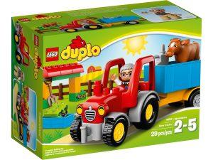 lego 10524 le tracteur de la ferme