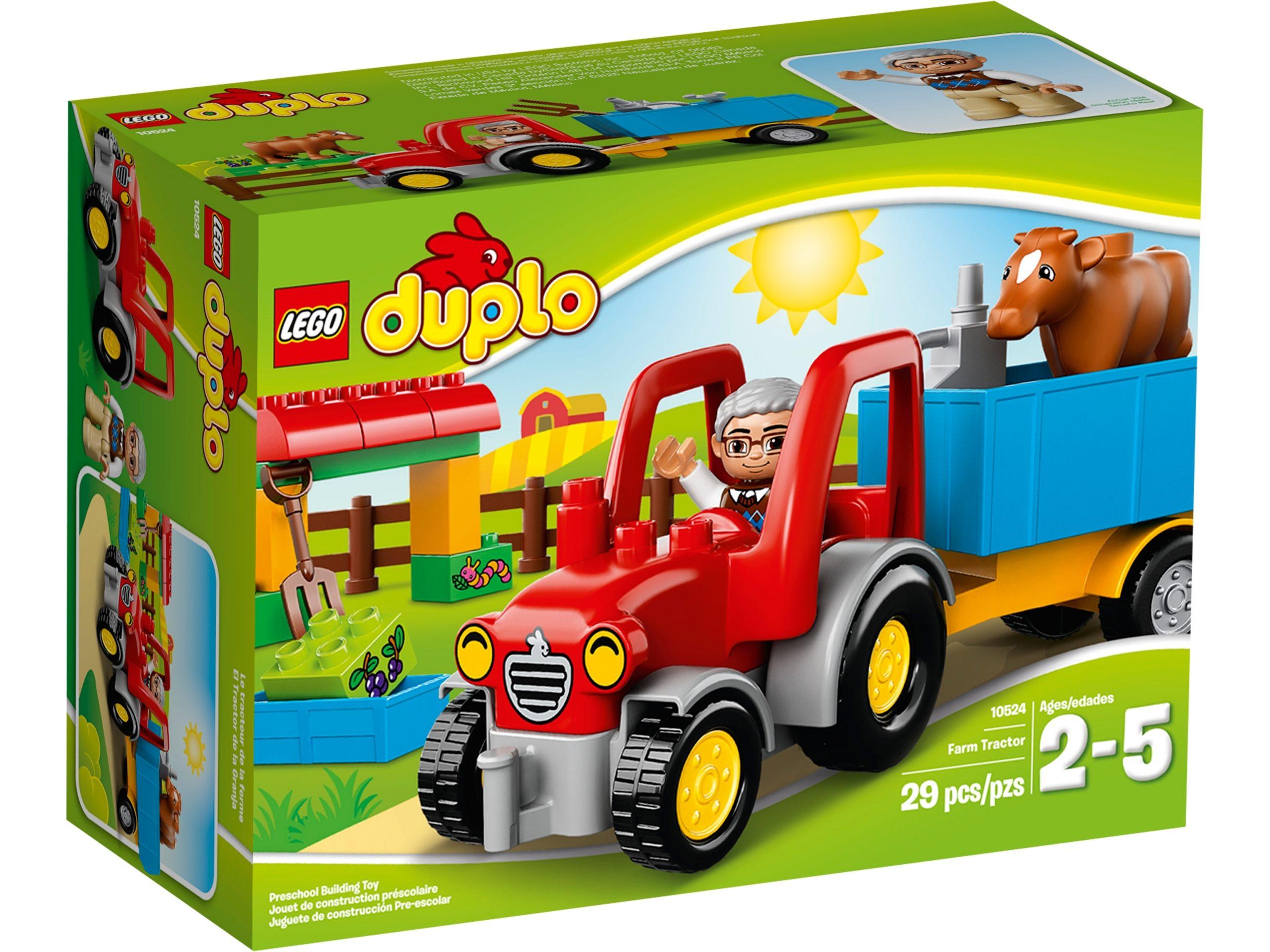 lego 10524 le tracteur de la ferme scaled