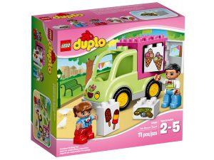 lego 10586 la camionnette de glaces