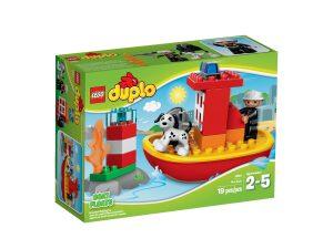 lego 10591 le bateau des pompiers