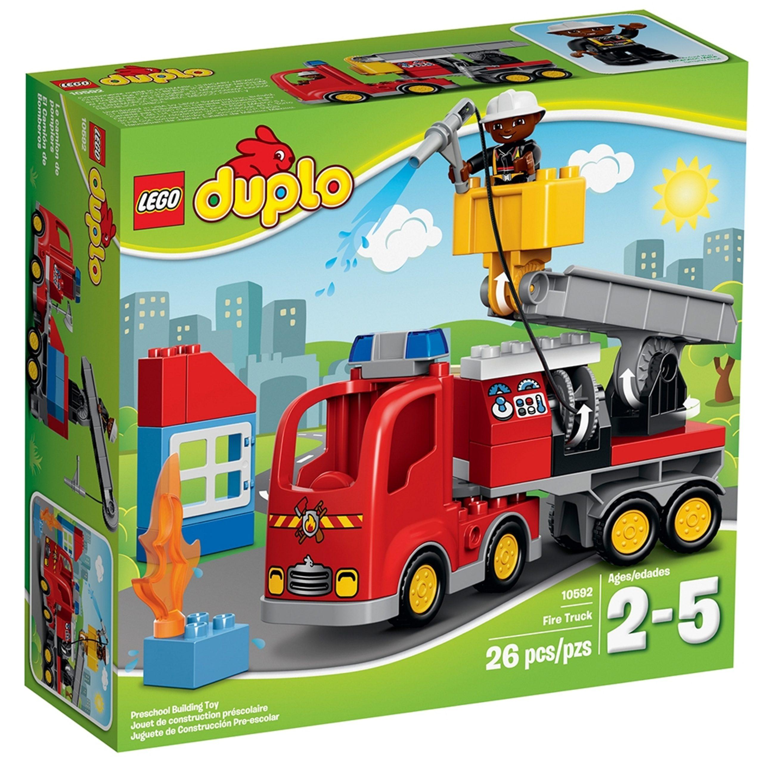 lego 10592 le camion de pompiers scaled