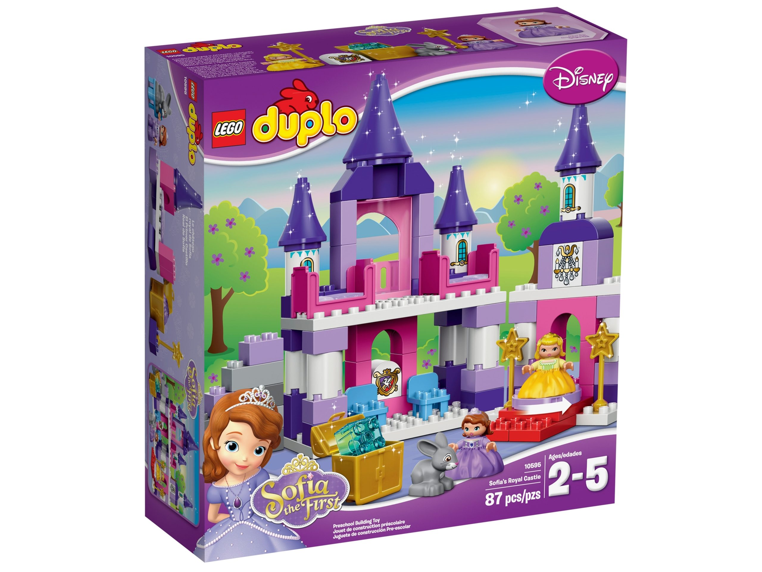 lego 10595 le chateau royal de la princesse sofia scaled