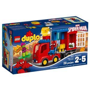 lego 10608 laventure de spider man en camion araignee