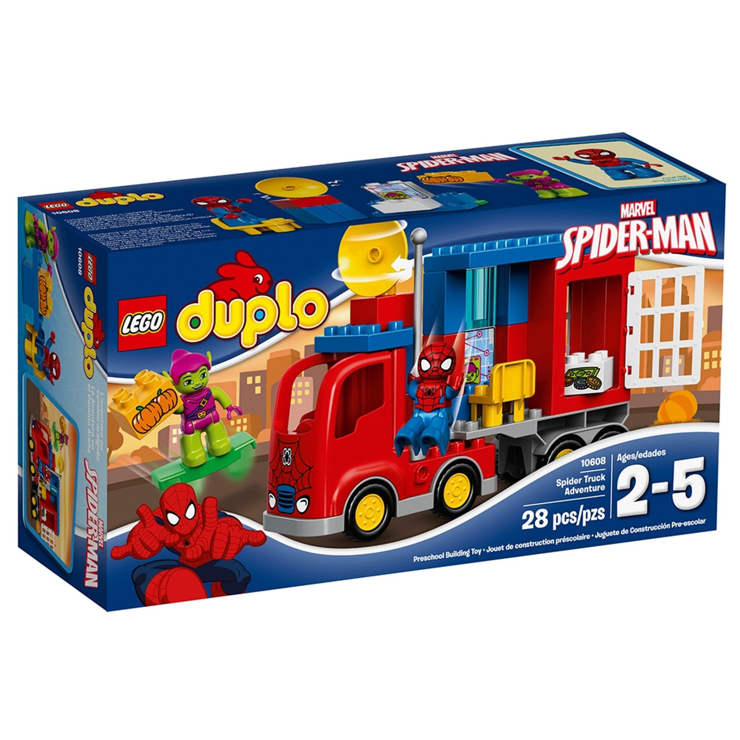 lego 10608 laventure de spider man en camion araignee scaled
