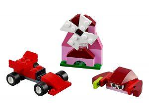 lego 10707 boite de construction rouge