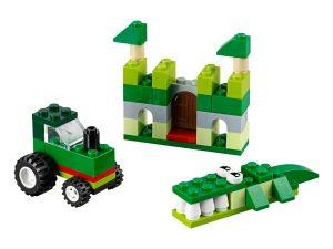 lego 10708 boite de construction verte