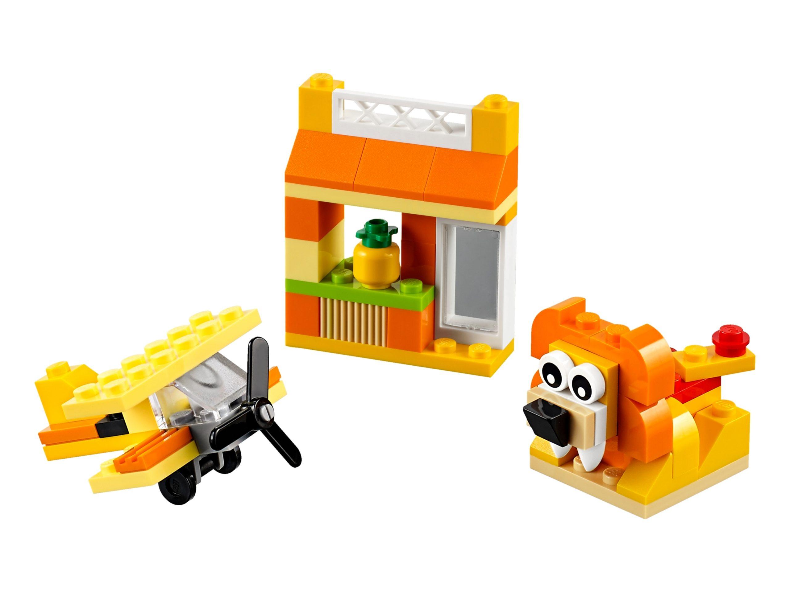 lego 10709 boite de construction orange scaled