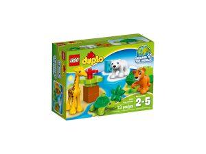 lego 10801 les bebes animaux du monde