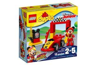 lego 10843 la voiture de course de mickey