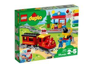 lego 10874 le train a vapeur