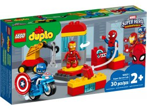 lego 10921 le labo des super heros