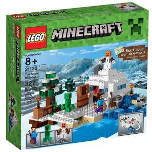 lego 21120 la cachette dans la neige