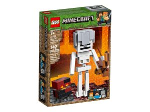 lego 21150 bigfigurine squelette avec un cube de magma