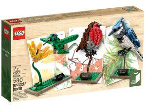 lego 21301 les oiseaux