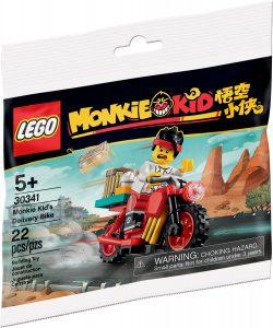 lego 30341 le velo de livraison de monkie kid