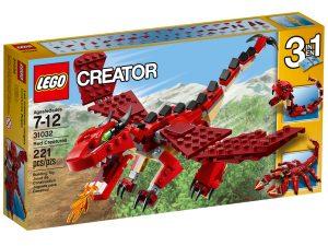 lego 31032 les creatures rouges