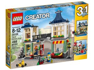 lego 31036 le magasin de jouets et lepicerie