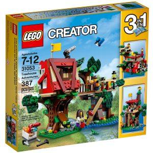 lego 31053 les aventures dans la cabane dans larbre