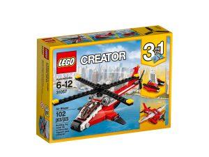 lego 31057 lhelicoptere rouge