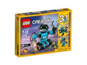 lego 31062 le robot explorateur