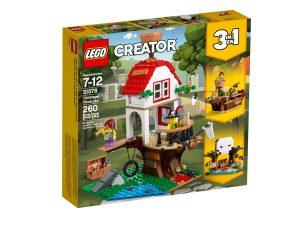 lego 31078 les tresors de la cabane dans larbre