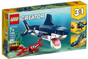 lego 31088 les creatures sous marines