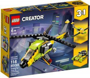 lego 31092 laventure en helicoptere