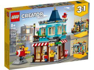 lego 31105 le magasin de jouets du centre ville