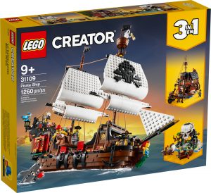 lego 31109 le bateau pirate