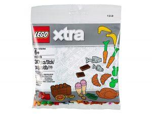lego 40309 accessoires sur le theme de la nourriture