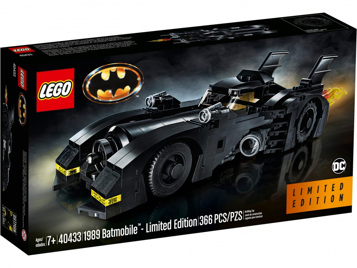 lego 40433 1989 batmobile edition limitee scaled