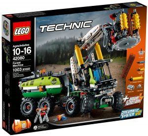 lego 42080 le camion forestier